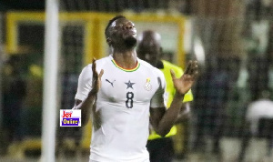 Ekuban has two goals in his opening two games for the Black Stars
