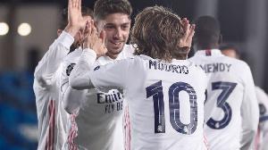 Yan wasan kungiyar Real Madrid