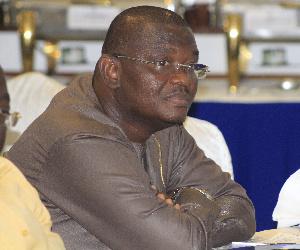Sylvester Adinam Mensah, former Chief Executive of the NHIA