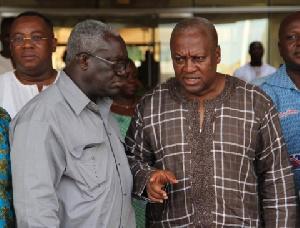 TUC Boss, Kofi Asamoah in a chat with John Mahama