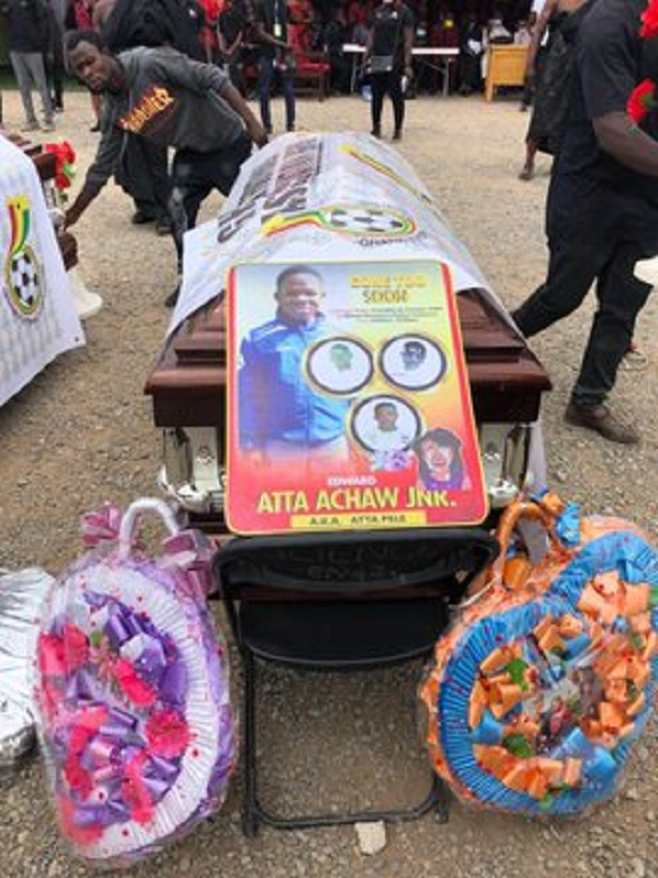 The 8 African Vision Soccer Academy players died in an accident a week ago