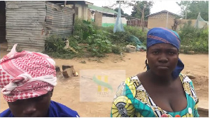 Mother of one the children hit by the stray bullets narrated the incident to vlogger Helen Selorm