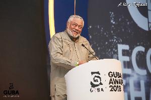 Rawlings Speaking At GUBA