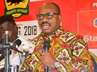 CEO of Kumasi Asante Kotoko, George Amoako