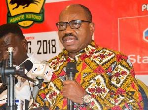Asante Kotoko General Manager, George Amoako