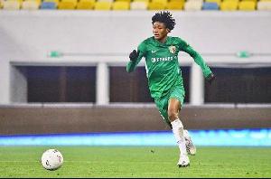 Ghanaian player, Najeeb Yakubu