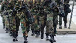 File photo of military men