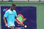 Ghana's tennis player, Johnson Acquah