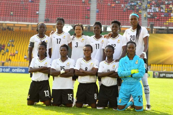 A photo of the black queens of Ghana