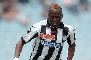 Ghana midfielder Emmanuel Agyemang Badu