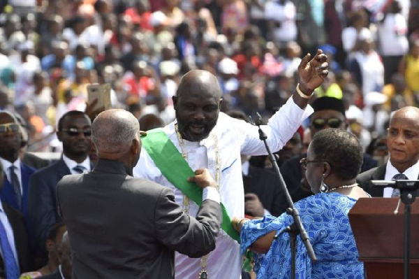 A year ago, President Georg Weah promised Liberians that he would