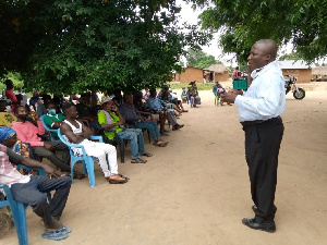 The programme is to encourage  the locals help find solutions to challenges in their communities