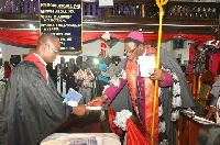 Right Rev. Dr. Paul Boafo inducted as the new Administrative Bishop