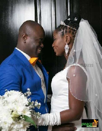Nathaniel Attoh and wife