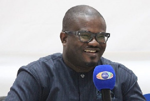 Charles Adu Boahen is a Deputy Finance Minister
