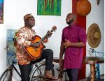 Veteran Ghanaian musician, Aka Blay with Trigmatic