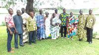 Some members of the Ghana Cocoa Coffee and Sheanut Farmers Association