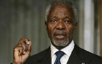 Former UN Secretary-General, Kofi Annan