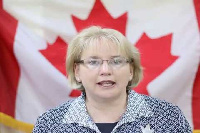 Dr Heather Cameron, High Commissioner of Canada to Ghana