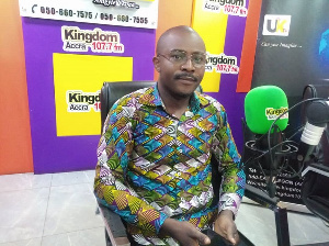 Richard Zinleri, New Patriotic Party (NPP) Branch Manager in South Korea