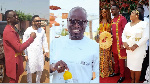Here are 5 celebrities we saw at Joe Mettle and Selasie's traditional wedding