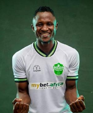 Dreams FC striker Joseph Esso
