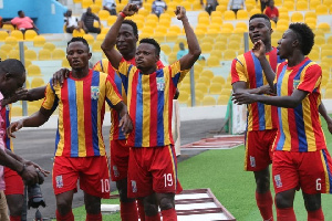 Hearts will shift their focus to next weekend's President's Cup match against Kotoko