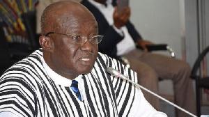 Aviation Minister Joseph Kofi Adda