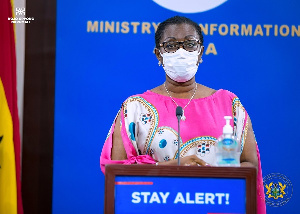 UrsulaOwusuEkuful Communications Minister