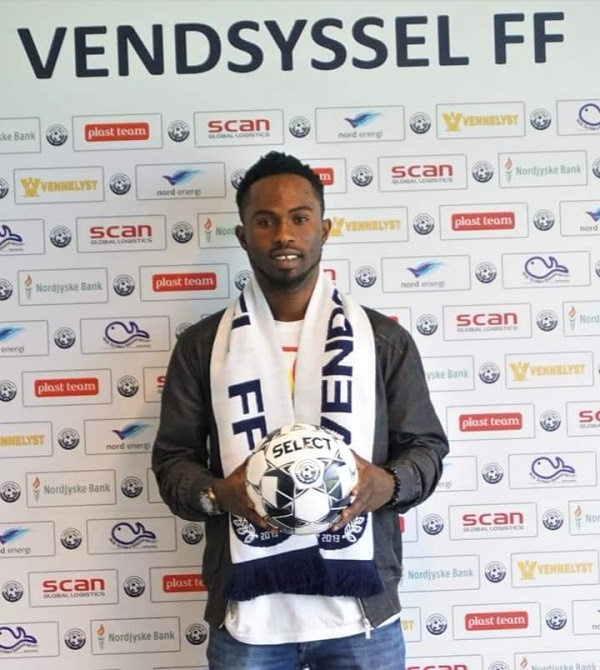 Safo-Taylor has signed a 4-year deal with Vendsyssel FF