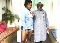 The artiste's father says he is in full support of his daughter's appearance on stage.