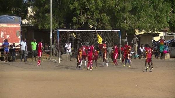 Tema youth initiates 'Sunday football talent exhibition'