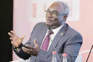 The Director-General of the NDPC, Dr. Kodjo Mensah-Abrampa