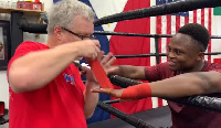 Isaac Dogboe has now joined the camp of Pacquiao's trainer