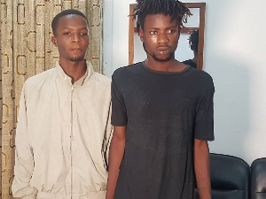The two suspects, 19-year-old Petiafor Abraham and 24-year-old Dakeh Winfred Mohammed
