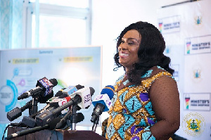 Minister of Special Development Initiatives, Mavis Hawa Koomson