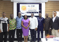 Some members of the awarding panel