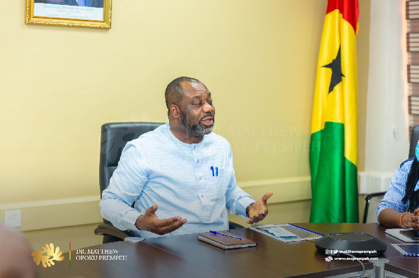 Dr Matthew Opoku Prempeh, Energy Minister