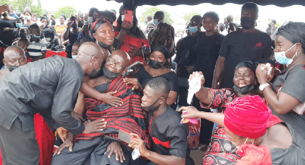Father of police officer killed in bullion van attack inconsolable at son's funeral. 53