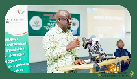 CEO of National Youth Authority, Emmanuel Sin-yet Asigri