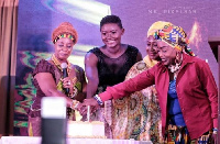 Nana Adwoa Awindor, Oheneyere Gifty Anti and Akosua Agyepong