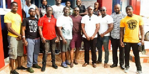 The Ghana Chapter of WABBA met with some of the Athlete this week