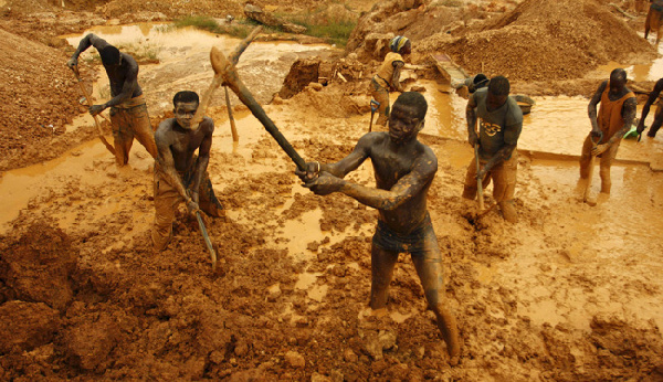 The fight against galamsey goes on unabated