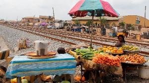 Foto of trader wey display im wares for Lagos State, Nigeria