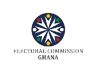 File photo: Logo of Ghana's Electoral Commission