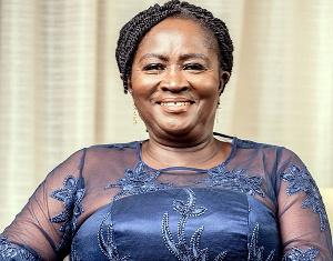 Jane Naana Opoku-Agyemang, running mate for the NDC flagbearer, John Dramani Mahama