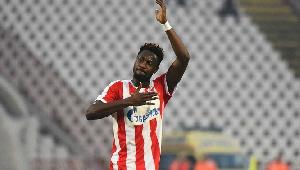 Ghanaian forward, Richmond Boakye-Yiadom