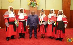 President Nana Addo Judges 1234
