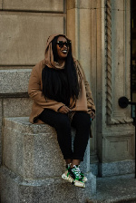 Richardine Bartee. Photo by Issa Khari, Styling by Eddie Pyram