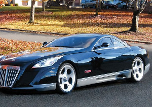 Maybach Exelero is one of the rarest vehicles in the world. Photo via Pinterest